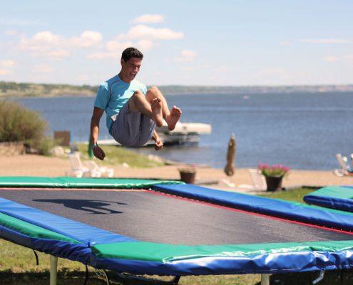 Rectangular Trampoline Pro Bounce